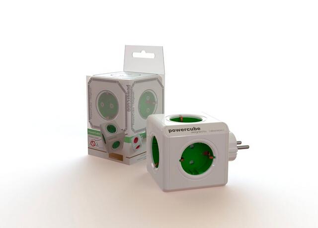 Электрическая вилка Allocacoc P Powercube 1100/DEORPC