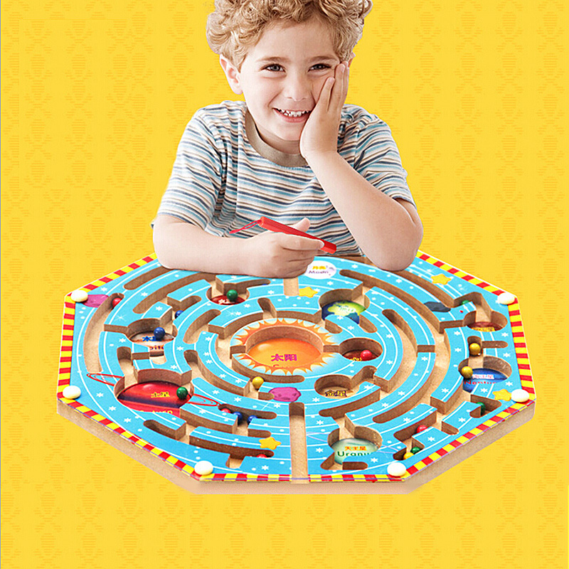 Early Childhood Educational Toys : Factory direct sales magnetic maze series early childhood