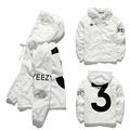 Trend Fashion UNDEFEATED NO.5 Sweatshirts O-Neck Cotton Thick Stripe Printing Rib Sweatshirts Hip Hop Casual Sports Sweatshirts