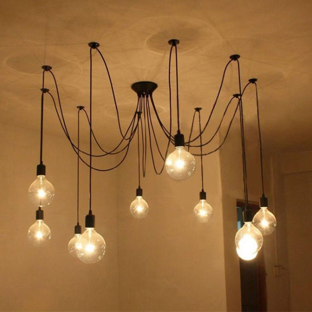 Lightess – Lampada a sospensione in stile vintage industriale ...