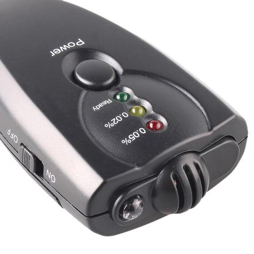 LCD Mini Alcohol Tester Flashlight Alcotesters Digital Breathalysers Alcohol Detector(China (Mainland))