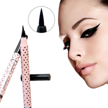 1Pc Black Eyeliner pencil,Waterproof Long-lasting Liquid Makeup Eye Liner Pen,Hot Lady Cosmetics For Eyes(China (Mainland))