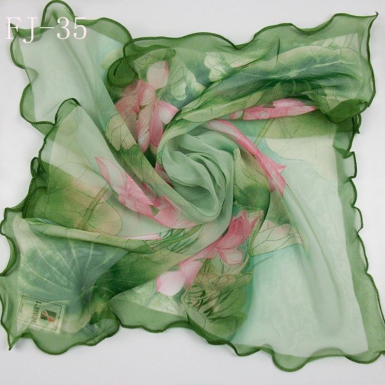 hot sale women scarf female silk georgette scarves 60cm*60cm scarf fashion scarves female square scarf-b71(China (Mainland))
