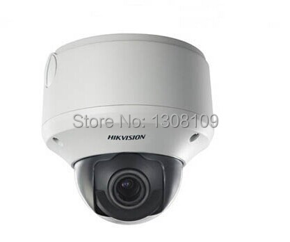 DS-2CD7283F-EZ Original English Version HIKVISION 5MP Outdoor Network Camera Day / night auto switch Vandal-proof housing(China (Mainland))