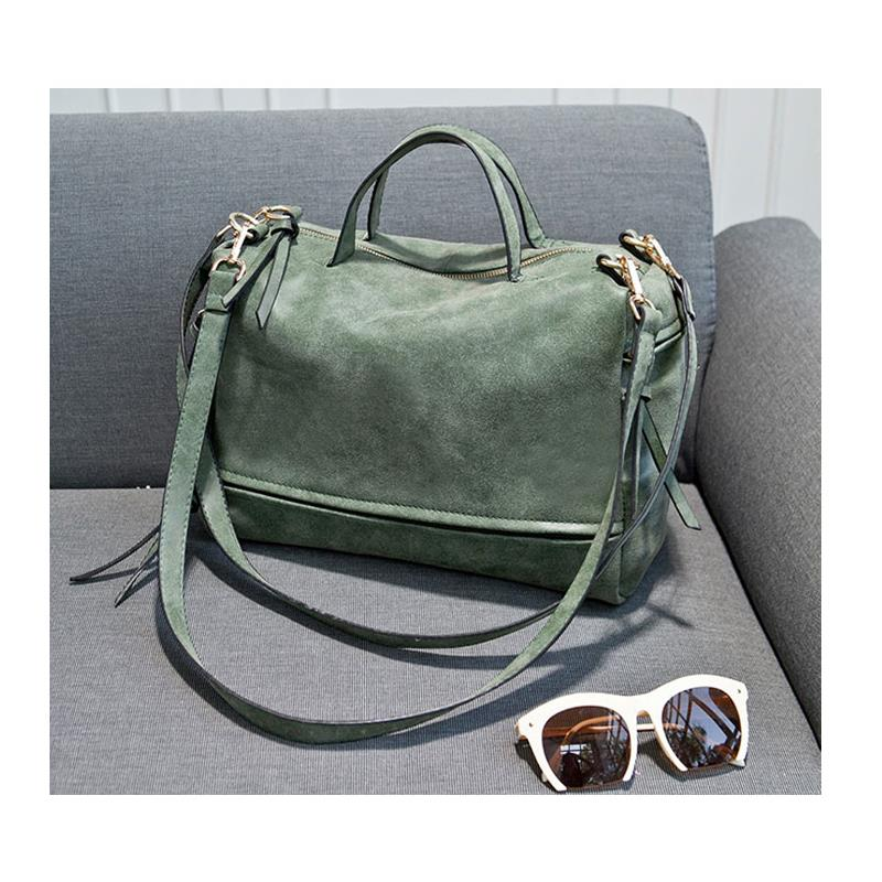 2015 fashion big womens bags velour soft leather handbag grey woman soft bag summer shoulder bag and women messenger bag cheap(China (Mainland))