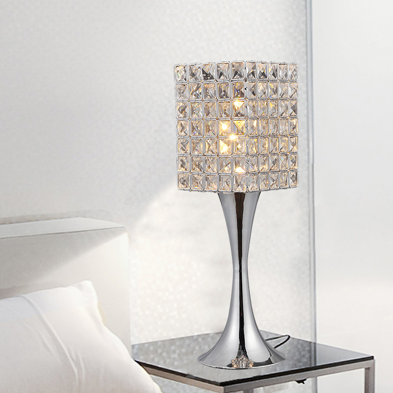 decoracao em lampadas : decoracao em lampadas:Modern Crystal Table Lamps for Bedroom