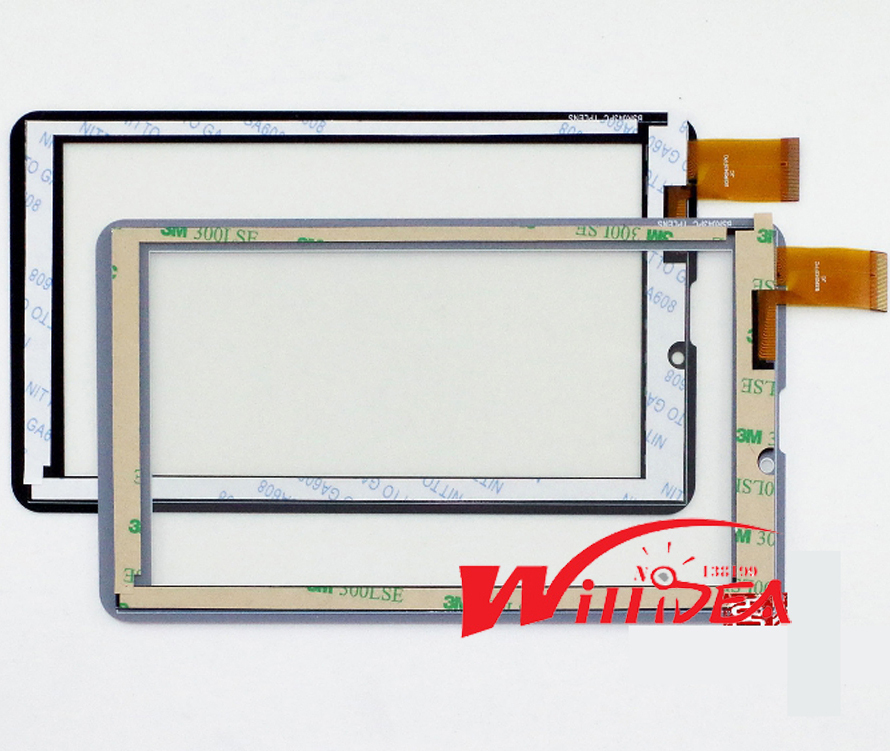 "original film + 7"" Inch Touch DY08087(V1) Touch Screen Panel Digitizer Glass Replacement DY08087 V1 new Screens free shipping(China (Mainland))"