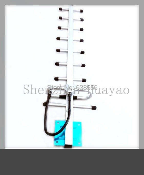 Factory price!!GSM 900/1900MHZ 13DBI 9segments high gain outdoor Signal booster antenna with 3M cable