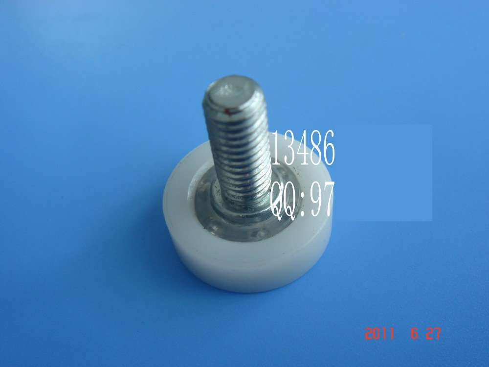 High quality Plastic pulley Drawer Pulley Screw wheel roller DR19-C1L14 M6(China (Mainland))