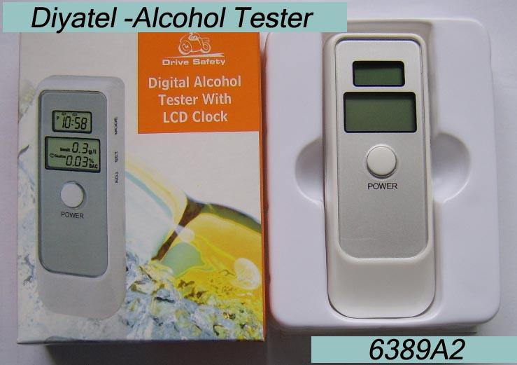 Mini portable Alcohol Tester breathalyzer alcoholmeter(China (Mainland))