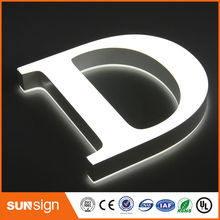 custom light up letters led sign letters(China (Mainland))