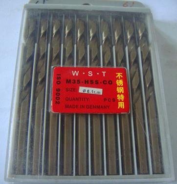 Сверло JR 6.1mm 10 = 1lot M35 сверло jr 2 5 95 2 10 1lot 60 2 5 95mm