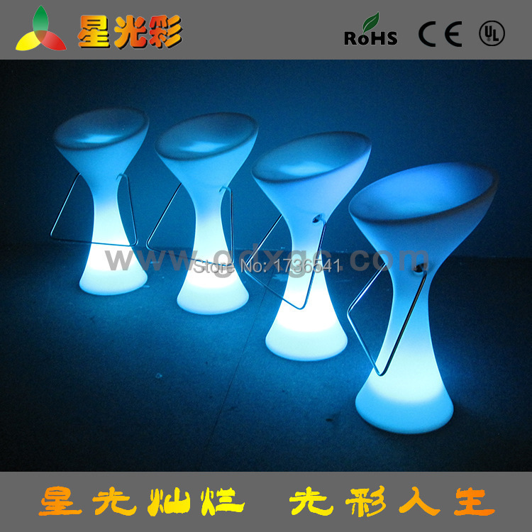 European modern minimalist LED light bar furniture bar stools bar chairs tall bar chairs(China (Mainland))