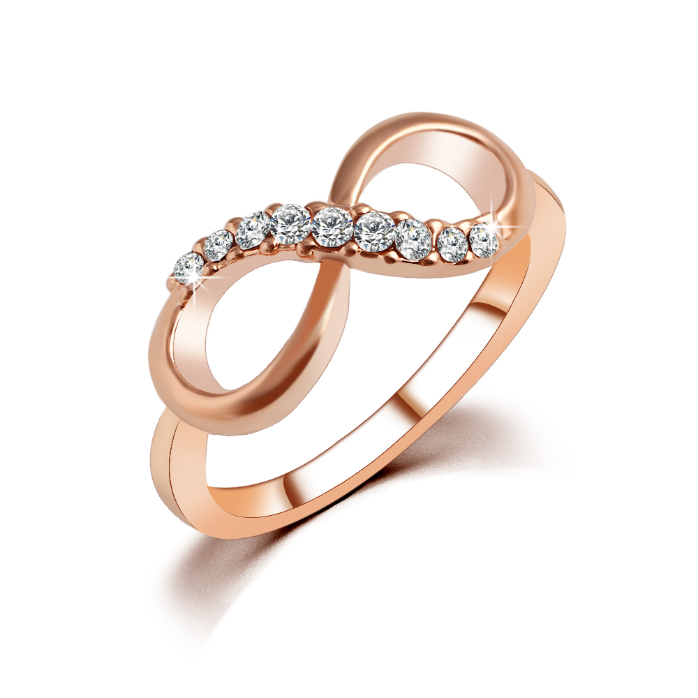 new design sale fashion alloy rings gold