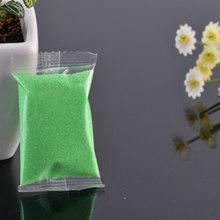 1 バッグマイクロ風景砂に川海の妖精ガーデンミニチュアテラリウム樹脂工芸置物家の装飾のため 6 (China)
