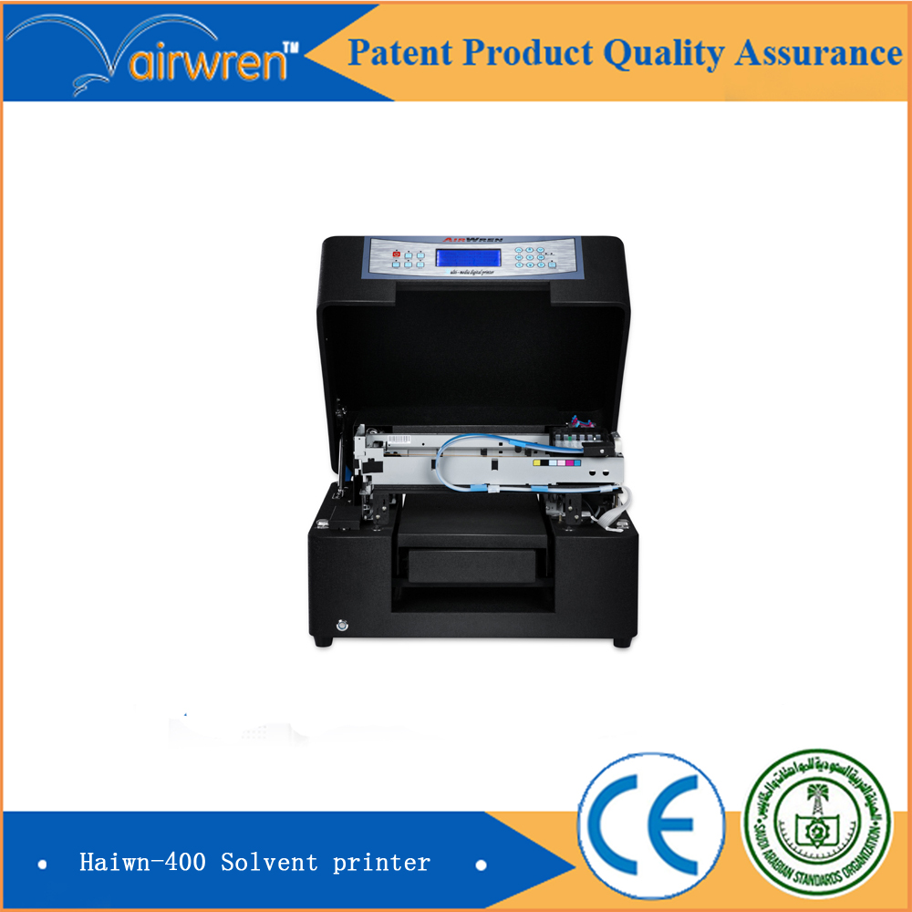 OEM Digital phone case solvent printer flat bed inkjet printing machine(China (Mainland))