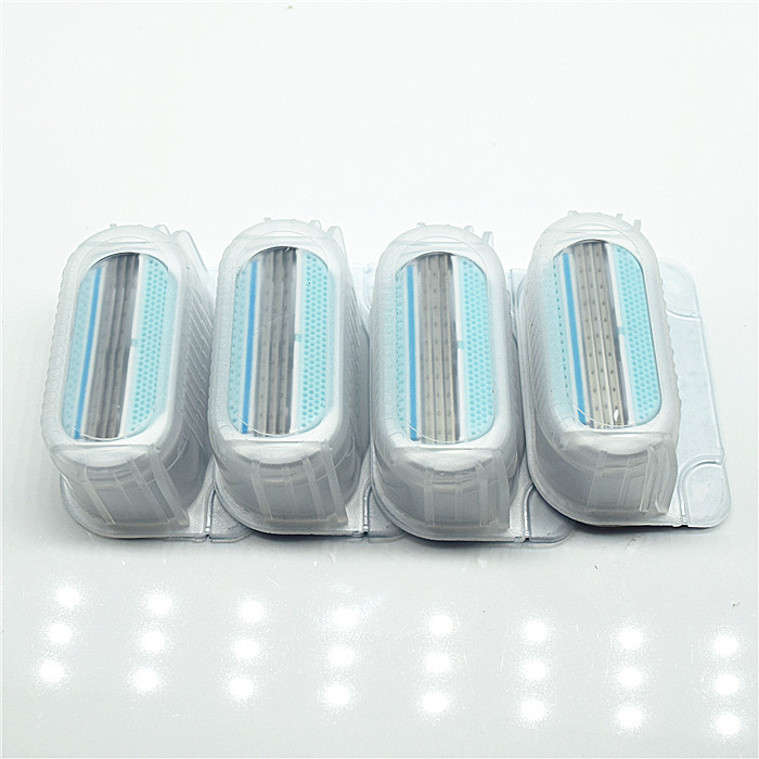 4pcs/lot Beauty Shaving Razor Blade For Women blades female Sharpener to shave venuse