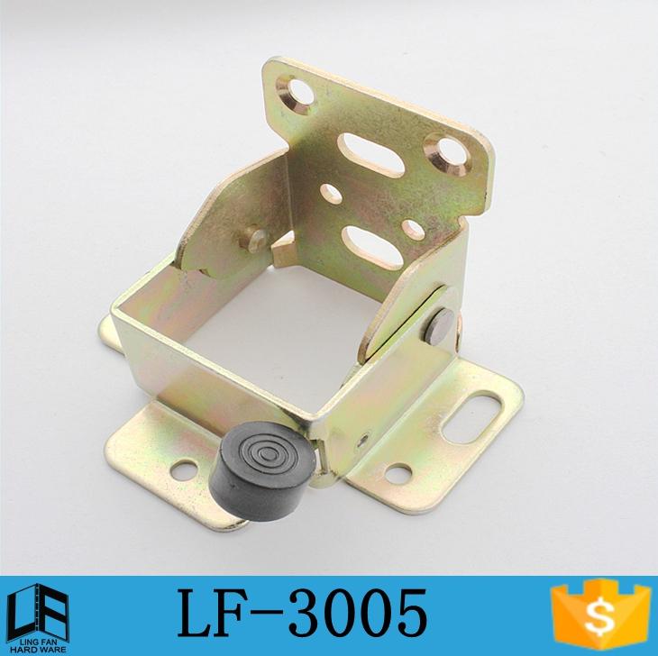 2016 furniture feet foldable support bracket, 90 degree self-lock folding table legs hinge,adjustable table leg insert LF-3005(China (Mainland))
