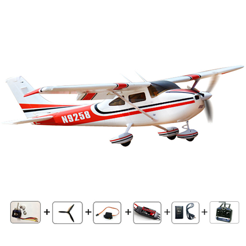 Free shipping RC Airplanes Cessna 182 RTF Model EPO air Planes radios control airplane aeromodelo RC control hobby toys aircraft(China (Mainland))