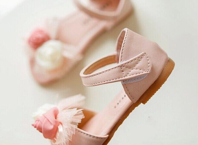 Пульс size21-35 девочки лето сандалии принцесса обувь марка влюбленность воздухопроницаемый пляж тапочки дети сандалии
