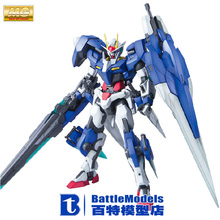 Genuine BANDAI MODEL 1/100 SCALE Gundam models #171075 MG OO Gundam Seven Sword /G plastic model kit