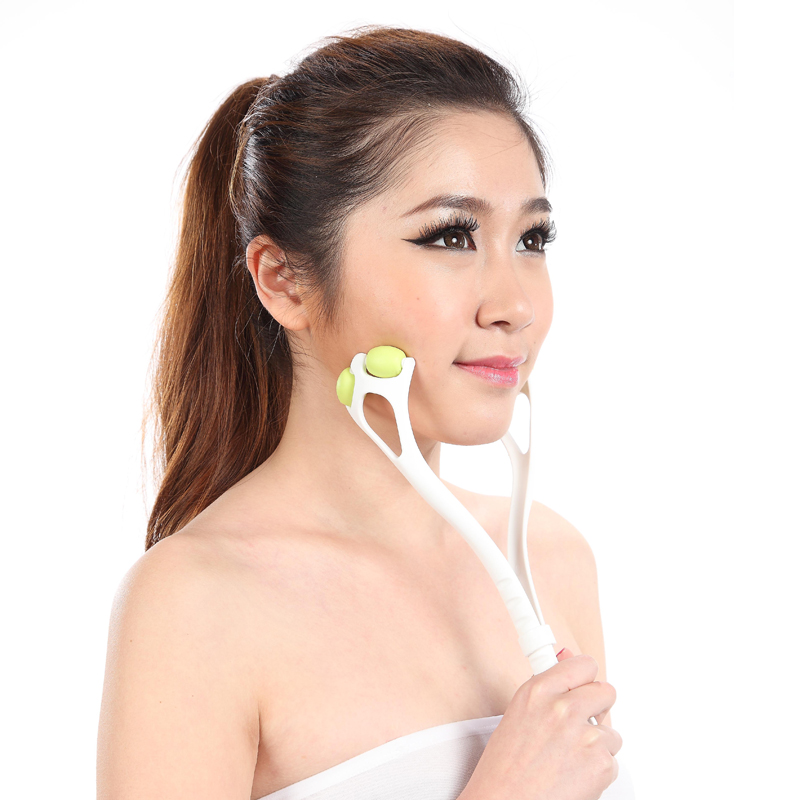 Powerful face lift device skin roller for slimming neck face facial massager anti cellulite face care beauty slimming products(China (Mainland))