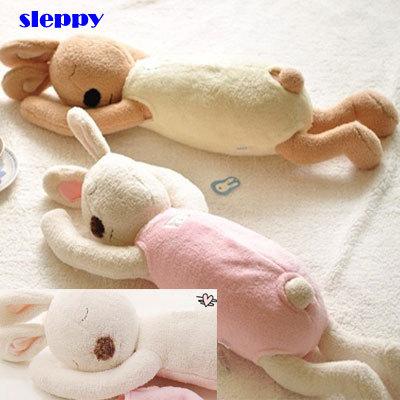 Cute Bunny Plush Toy Rabbit Stuffed Animal Baby Kids Gift Sleeping Bunny Doll 78cm(China (Mainland))