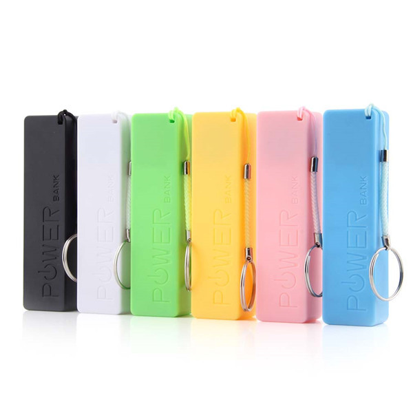 1Pc Portable Mobile Power Bank USB 1x 18650 Battery Charger Case for Phone MP3, Free Shipping(China (Mainland))