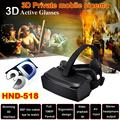 HMD 518 Virtual Reality Headset 3D Glasses VR Box Video Glasses HD Private Cinema 1600mAh 350