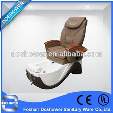 Doshower whirlpool european touch pedicure spa chair with pedicure chair leather cover of salon bench(China (Mainland))
