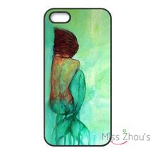 For iphone 4/4s 5/5s 5c SE 6/6s plus ipod touch 4/5/6 back skins mobile cellphone cases cover Custom The Little Mermaid Back
