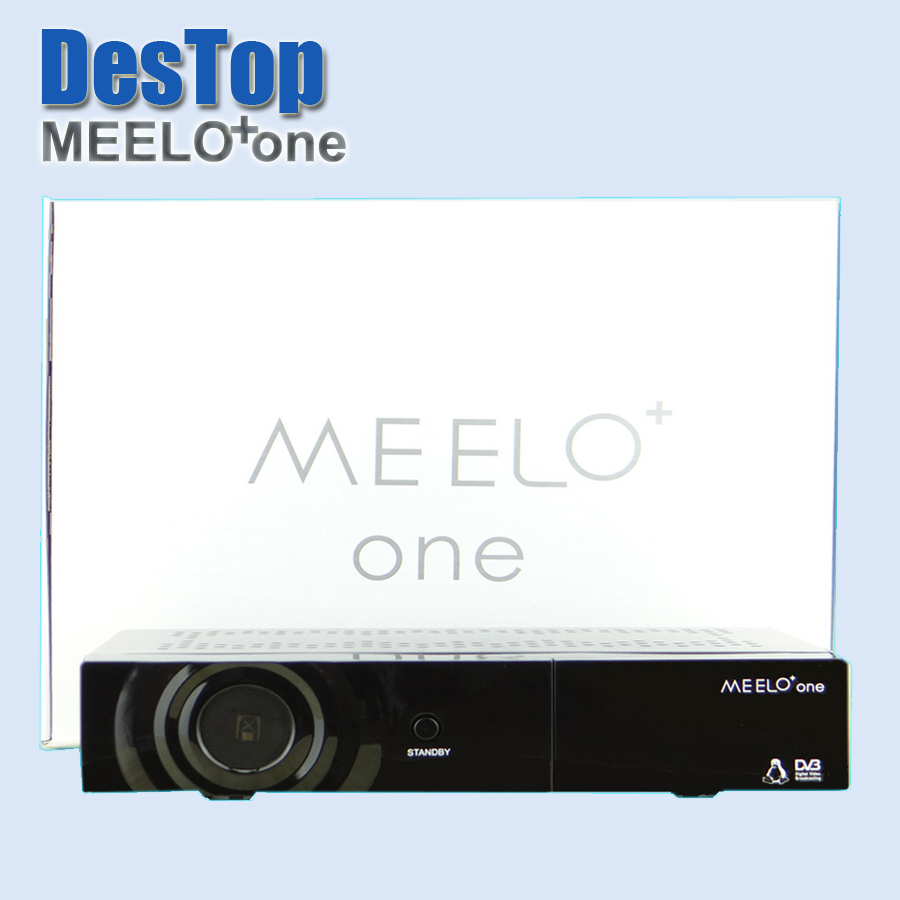 Best selling strong full HD satellite tv receiver MEELO one 750 DMIPS Processor Linux Operating System 1pc free by DHL shipping(China (Mainland))