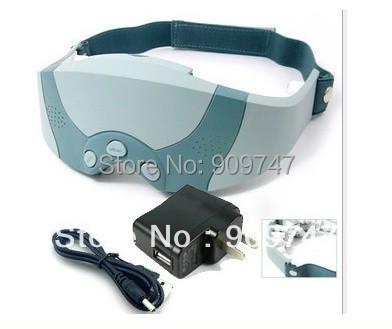 Mask Migraine DC Electric Care Forehead Eye Massager US EU Plug 110V-220V Free Shipping(China (Mainland))