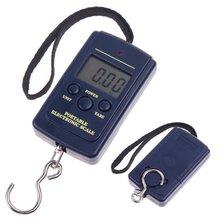 5 g – 40 kg digital de cocina báscula electrónica báscula electrónica escala de la caída del peso del equipaje escala pesca herramientas de cocina