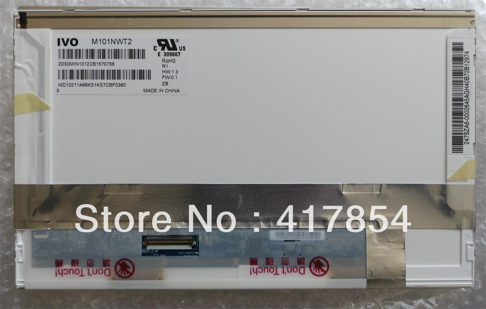 """10.1"""" A+ Laptop TFT LCD LED Backlight HSD101PFW2 B101AW03 V.0 N101L6-L02 MT101NWT2 1024 x 600 for HP mini 5101 5102(China (Mainland))"""