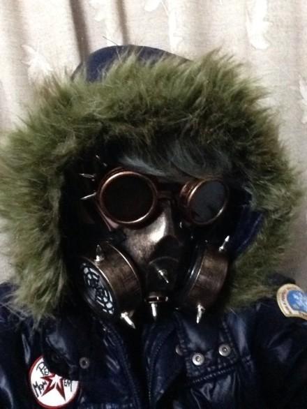Steampunk Retro glasses Gas Masks