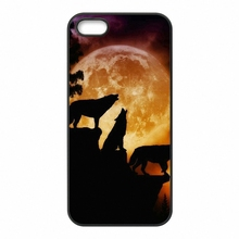 Xiaomi Mi2 Mi3 Mi4 Mi4i Mi4C Mi5 Redmi 1S 2 2S 2A 3 Note Pro Wolf howling silhouette full moon Phone Cover Case - Cases For You Store store