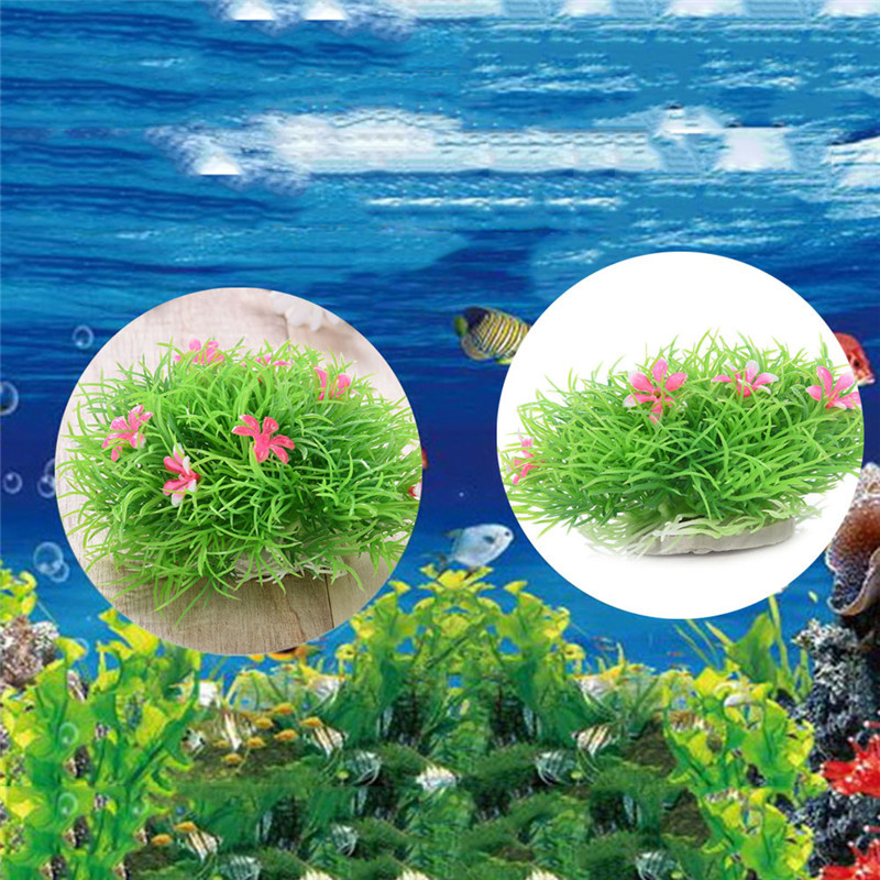 Decorative fish ponds promotion shop for promotional for Fake pond plants