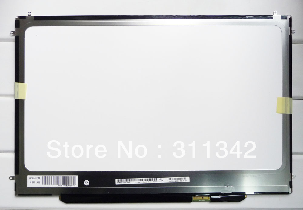 """15.4"""" LCD Screen LED LP154WP4(TL)(A1) for Apple MacBook Pro Unibody A1286 Late 2008 Mid 2010 Early 2010 MB985LL 2008/2009(China (Mainland))"""