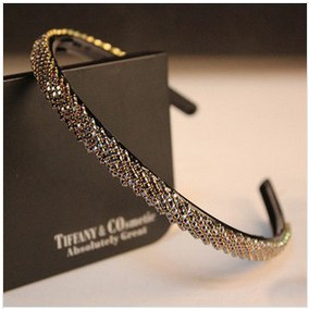 Free Shipping 2015 Hot Sale Luxury Full Rhinestone Hairbands Headbands For Women Fashion Hair Jewelry Accessories Female(China (Mainland))