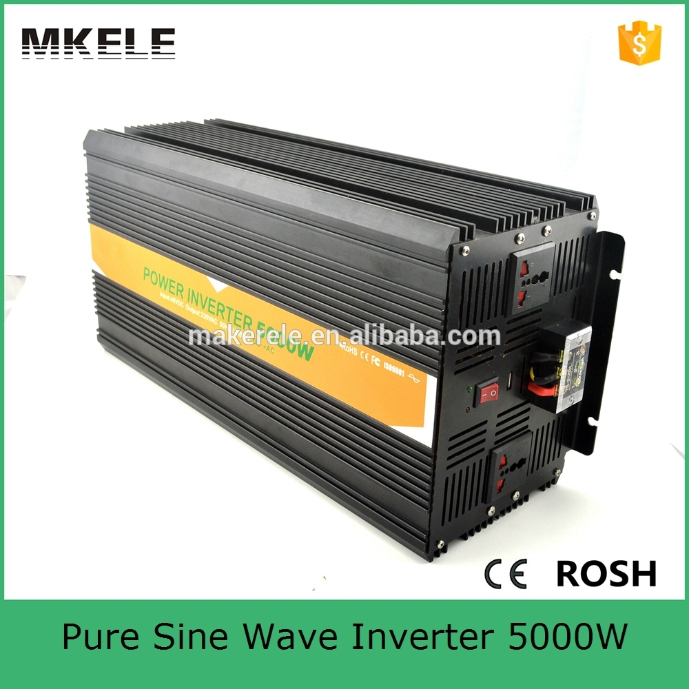 MKP5000-121B off grid 5000 watt inverter dc ac 110v 5k watt electric power inverter pure sine wave form with 12vdc input(China (Mainland))