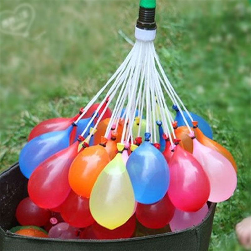 one bunch 37pcs Water balloon water bombs irrigation water balloon The most fun children's toys free shipping S410(China (Mainland))