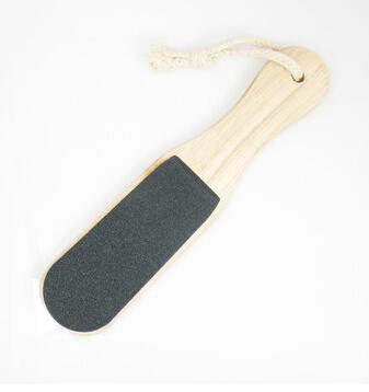 Nail Art tools Wooden Foot Rasp Rub File Foot Board Rub Feet Rasp Pedicure Exfoliating Care Foot Dead Skin Remover #60()