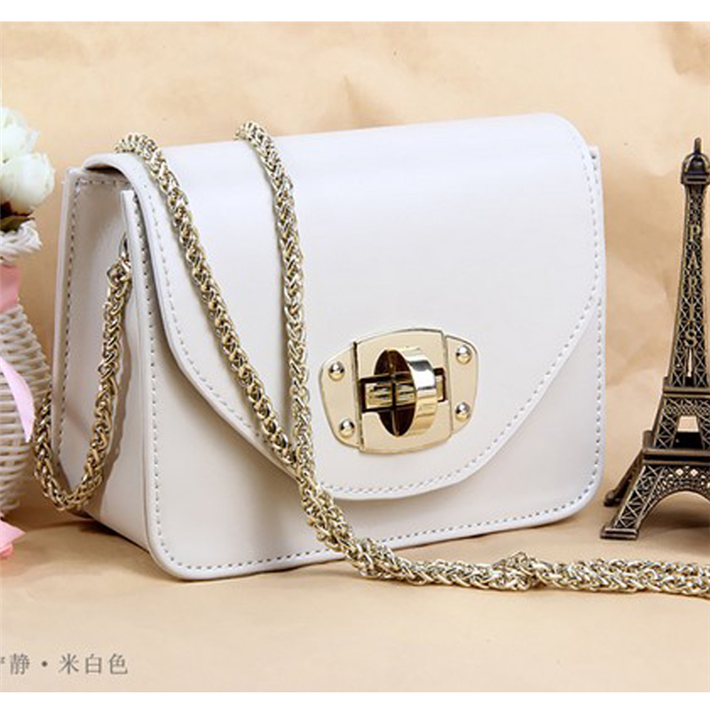 HOT!2014 chain packet cowhide shoulder bag genuine leather mini bags women's cross-body female handbags X06637