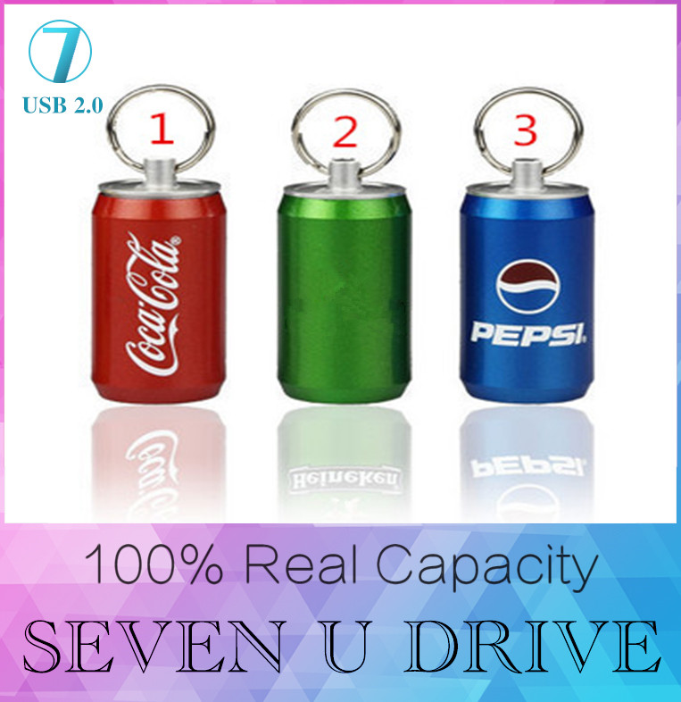 HOT Full capacity USB flash drive beer bottle metal 8GB 16GB 32GB memory card u disk 128GB pen drive 512GB pendrive nimi gift(China (Mainland))