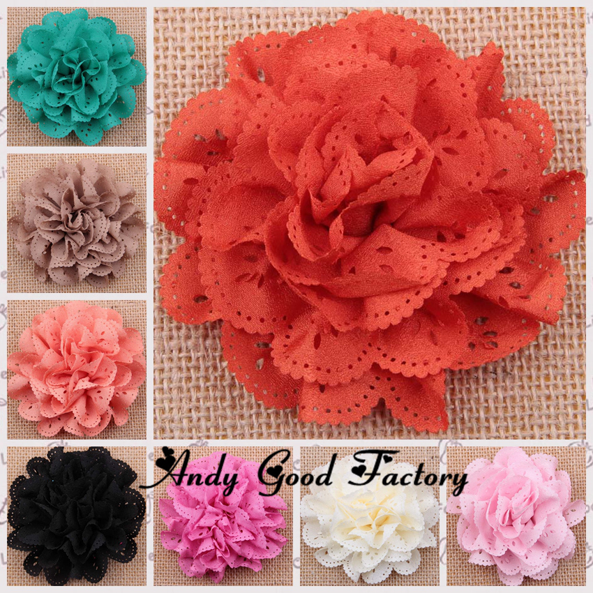 Wholesale 120pcs 3.2 Mesh Multilayers Flowers Toddler Infant Headbands Baby Hairbands Girls Hair Band Accessories FL044<br><br>Aliexpress