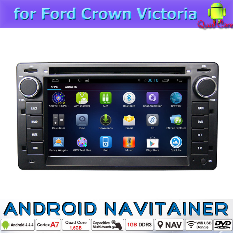 Android Central Multimedia GPS Navigation Digital Car Radio System for Ford Crown Victoria with DVD Quad Core 16G Wifi 3G RDS(China (Mainland))