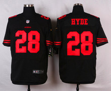 San Francisco 49ers #21 Deion Sanders Elite White Black and Red Team Color free shipping(China (Mainland))