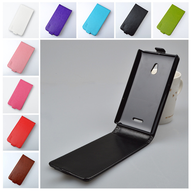Up and down leather case for <font><b>Nokia</b></font> <font><b>XL</b></font> Dual SIM RM-1030 / RM-1042 <font><b>flip</b></font> <font><b>cover</b></font> case for <font><b>Nokia</b></font> RM 1030 / RM 1042 phone <font><b>covers</b></font> cases