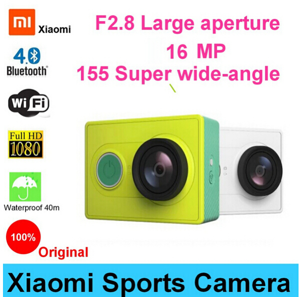 Гаджет  Original Xiaoyi Sports Camera Xiaomi WiFi Action Mi Sport Camera 16MP 60FPS WIFI Ambarella Bluetooth 4.0 Waterproof Smart Cam None Бытовая электроника